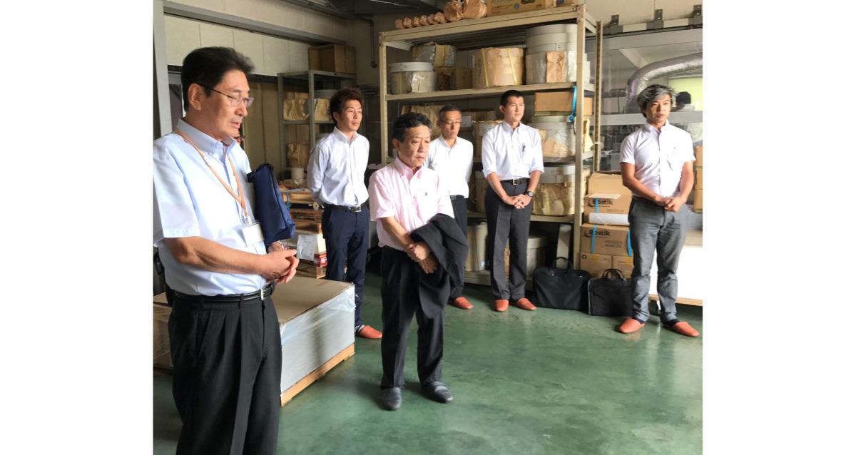 【支部活動報告】くすの木会と長野県支部が長野県・渋谷文泉閣を見学!